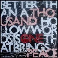 give peace a chance by hayleyberk