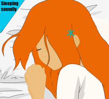 Orihime-sleeping soundly by EpicEspada4