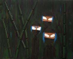 Ninjas in Bamboo by pinguino