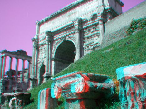 More Ruins of Rome...in 3D by Futurender