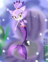 Blaze the Mercat - Commission by Sweetcorn-chan