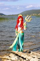 Ariel the Warrior Mermaid #08 by Phobos-Cosplay
