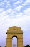 India Gate by shom