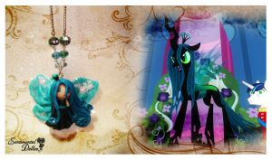 Queen Chrysalis Necklace by SentimentalDolliez
