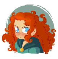 Brave : Merida by yllya