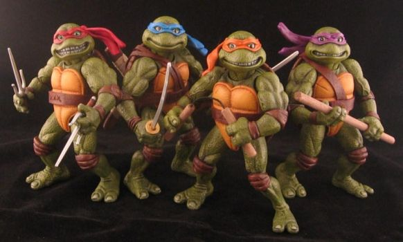 Teenage Mutant Ninja Turtles 'the Movie' by plasticplayhouse