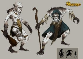 [Moonga] Troll Concept by LauraBevon