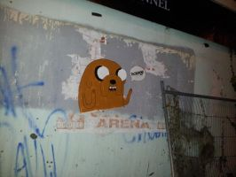 Jake the Dog by ScrageArt