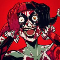 War-face Wednesday: Harley Quinn by AndrewKwan