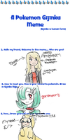 Pokemon Gijinka Meme by RandomArtistWannabe