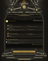 WBB3 Interface DarkTech by Bluevacci