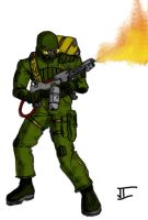 Torch Trooper Two by Bad-People