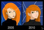 Five Years: Kim Possible by fortheloveofpizza
