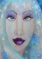 'The Snow Queen's Stare' by tessieart333