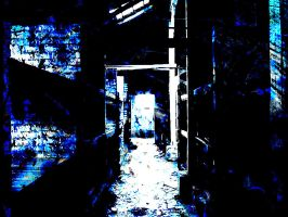 The Blue Passageway by angelwillz
