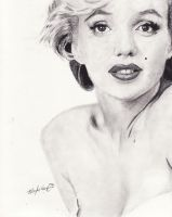 Marilyn Monroe by DarkCalamity