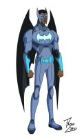 Batwing: David Zamvimbi by phil-cho