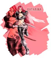 LoL Girls - Katarina by Rush--it