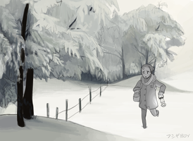 Winter by Boywithmeese
