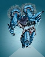 Beamer IDW Blurr colored by plunger02
