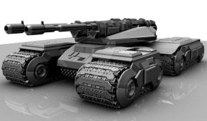 Mammoth Tank Model by morinhuur