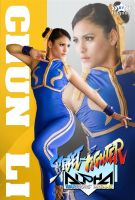 Chun Li Street Fighter  Alpha by harleykmc