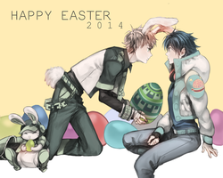 HAPPY EASTER by NoahXica