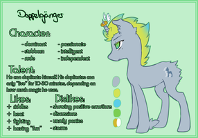 Doppelgaenger -- Ref Sheet by SayRailgun