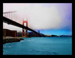 Golden Gate Bridge by joelht74