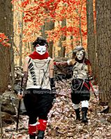 Anbu Cosplay'Crimson leaves' by Mamo-theta