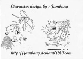 character design 2'nd by Jambang