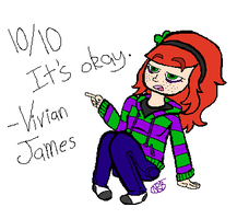 Vivian James by uhnevermind
