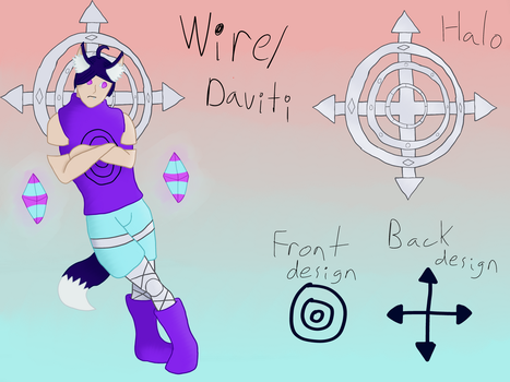 Artifacted-God MYO: Wire/Daviti by IronKnightKarkat