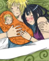 NaruHina - Family Luck by Jin-emon