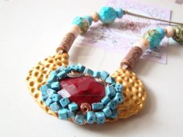 Notice me Statement Necklace by ncyliandocoleman