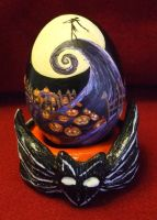 Nightmare Egg by alrach
