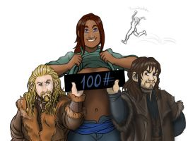 100 Members of the Fellowship! by Odme1