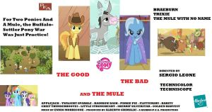 MLP: The Good, The Bad and The Mule by Ryan1942