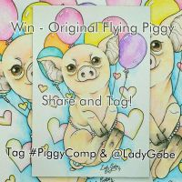 Instagram competition! #PiggyComp - share and tag! by LadyGabe