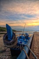 Sunrise of Dove Jetty by fighteden