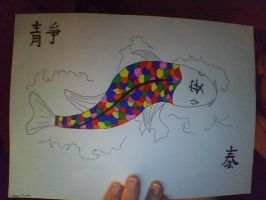 Chinese Koi Rainbow Fish by Killian-sensei
