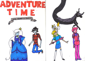 Adventure time gender-swap by gothicEMerald1