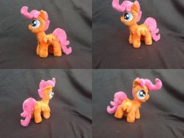 MLP FiM 7 inch handmade plushie: Scootaloo! by vulpinedesigns