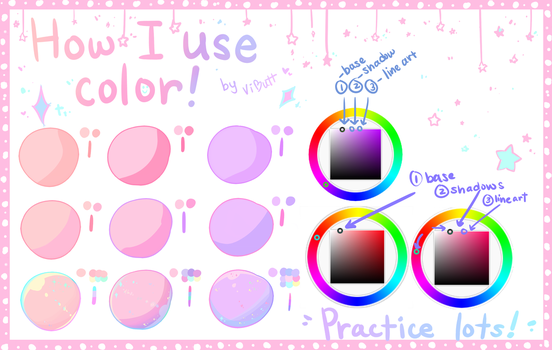 Tutorial - How I use color by SmexyViButt