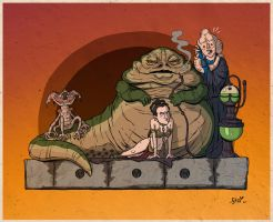 Jabba The Hutt by stayte-of-the-art