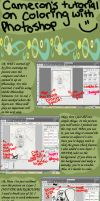 Adobe Coloring Tutorial by CuteTreats