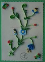 Quilling - Card 17 by Eti-chan