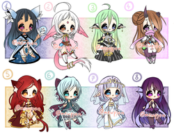ADOPTS: Fantasy Collab [1/8 OPEN] by Mewpyonadopts