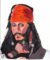 Jack Sparrow by audamay