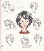 The Expressions of Leo Valdez by blindbandit5